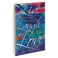 jegyzetfüzet Live Laugh Love