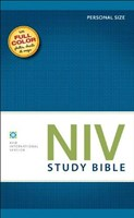 Angol Biblia New International Version Study Bible Personal Size