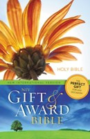 Angol Biblia New International Version Gift and Award Bible Flower Design Paperback (Papír)