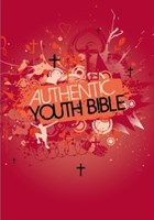 Angol Biblia Easy-to-Read Version Authentic Youth Bible Red