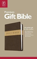 Angol Biblia New Living Translation Premium Gift Bible Dark Brown / Tan (Tutone)