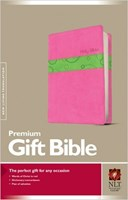 Angol Biblia New Living Translation Premium Gift Bible Bubble Gum / Pistacchio (Tutone)