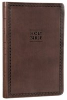 Angol Biblia New International Version Value Thinline Bible, Brown Imitation Leather (Imitation Leather)
