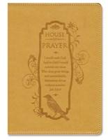 Exkluzív műbőr angol napló House of Prayer