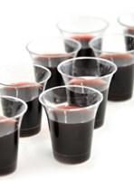 Úrvacsorai műanyag pohár készlet (50 db)
