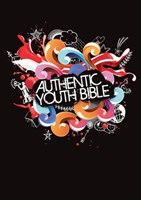 Angol Biblia Easy-to-Read Version Authentic Youth Bible Black