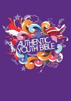 Angol Biblia Easy-to-Read Version Authentic Youth Bible Purple