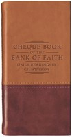 Chequebook of the Bank of Faith - Tan/Burgundy (Imitation Leather)
