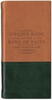 Chequebook of the Bank of Faith - Tan/Green