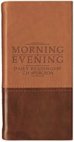 Morning and Evening - Matt Tan/Burgundy (Imitation Leather)