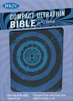 Angol Biblia New King James Version Compact Ultrathin for Teens Blue Vortex (Imitation Leather)