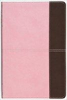 Angol Biblia New King James Version Ultrathin Reference Bible Pink/Brown