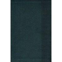 Angol Biblia New King James Version Large Print Personal Size Reference Bible Slate Blue (Leathertouch)