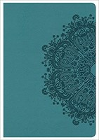 Angol Biblia King James Version Compact Ultrathin Bible Teal
