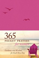 365 Pocket Prayers for Women leatherlike