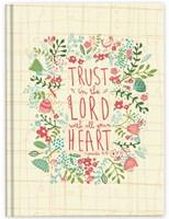Keménytáblás angol napló Trust in the Lord (Keménytáblás)