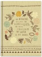 Keménytáblás angol napló The Heavens Declare (Keménytáblás)