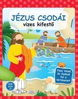 Jézus csodái - vizes kifestő (Keménytáblás)