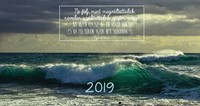 Zsebnaptár 2019 Hullám