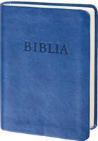 Biblia revideált új fordítás, zsebméretű, műbőr, kék (Műbőr)