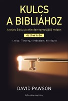 Kulcs a Bibliához 1. Törvény, történelem, költészet