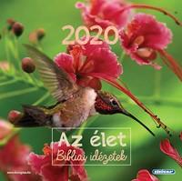 Négyzetes falinaptár 2020 Az élet