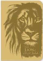 Exkluzív műbőr angol napló Júda oroszlánja