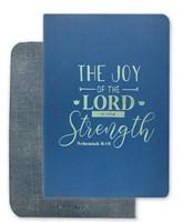 Exkluzív műbőr angol napló Az Úr öröme a mi erősségünk