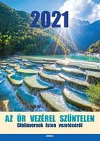 Nagyméretű falinaptár 2021 Az Úr vezérel szüntelen