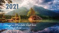 Zsebnaptár 2021 hegy