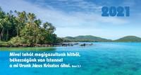 Zsebnaptár 2021 tenger
