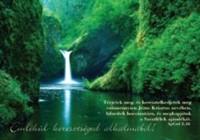 Képeslap-csomag keresztelésre Vízesés