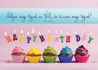 Születésnapos képeslap-csomag Happy Birthday muffinokkal