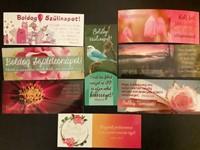Születésnapos és névnapos könyvjelző-csomag