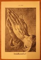 Imádkozol-e?