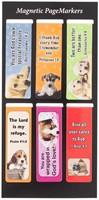 Mágneses könyvjelzőcsomag Kutyusok 2. (Csomag)