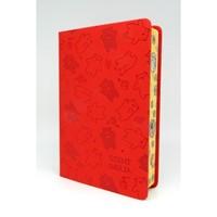 Biblia Károli fordítás közepes piros macis sima (Műbőr)