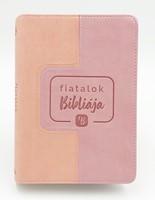 Fiatalok Bibliája - lila/rózsaszín