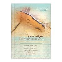 Keménytáblás angol napló Footprints - God Is with You (Keménytáblás)