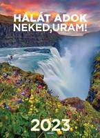 Nagyméretű falinaptár 2022 Vigasztaló szavak a Zsoltárokból (Spirálozott)