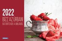 Kisméretű asztali naptár 2022 Bízz az Úrban! (Spirálozott)