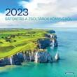 Négyzetes falinaptár 2021 Erőt adó szavak a Bibliából