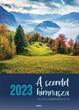 Nagyméretű falinaptár 2022 Bátorítás a Bibliából
